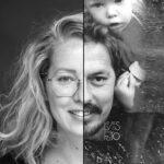 2 zielen, 1 gezicht, LevensFoto, Duo fotoshoot, 2 zielen 1 gezicht, samengevoegd portret