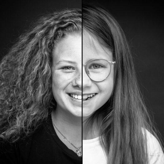 2 zielen een gezicht, 2 zielen, een gezicht, duo fotoshoot, 2 zielen een gezicht fotoshoot, combinatie portret ,