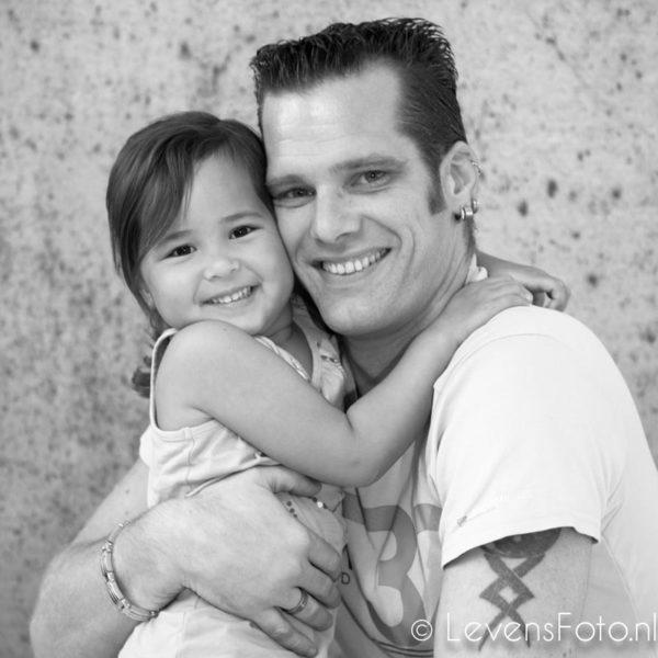 vaderdag fotoshoot, portret met je kind