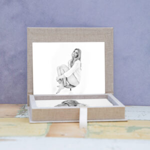 Giftbox, boudoir fotoshoot